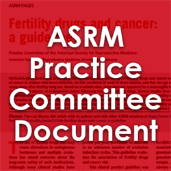 Intracytoplasmic Sperm Injection (ICSI) for non-male factor: a committee opinion (2012)